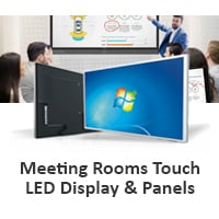 Meeting Rooms Touch LED Display & Panels