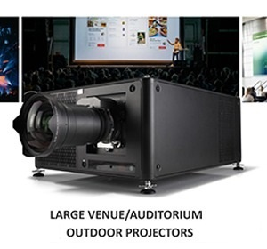 Large Venue/Auditorium/Outdoor Projectors