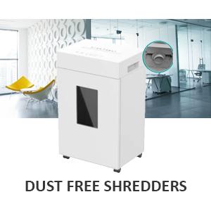 Dust Free Shredders