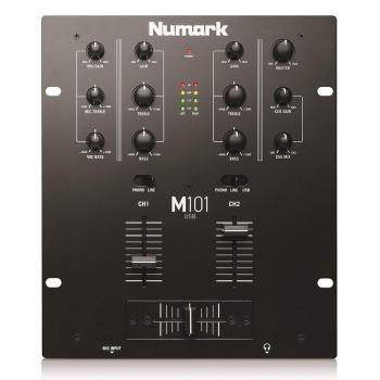 Numark M101USB 2-Channel DJ Mixer with USB