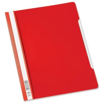 Perfekt Clear Folder Red - Set of 5 (12 Pcs in 1 Pack)
