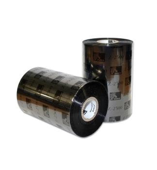 Zebra European Wax 110mm x 450m Black Label Printer Ribbon