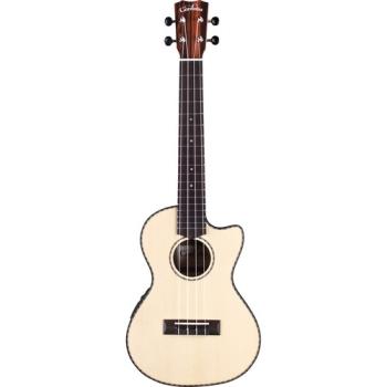 Cordoba 21T-CE Tenor Cutaway Acoustic_Electric Ukulele Guitar