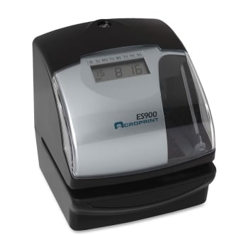 Acroprint ES900 Atomic Time Recorder