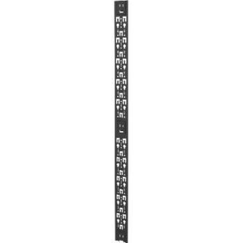 "Vertiv Liebert VRA6025 42U 4"" Wide PDU/Cable Management Bracket Black"