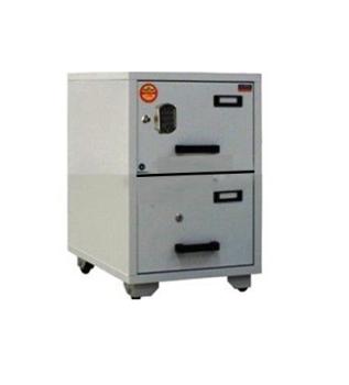 Valberg FC 2E-KK Fire Resistant 2 Drawer Filing Cabinet