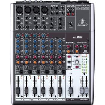 Behringer XENYX 1204USB  12-Input USB Audio Mixer