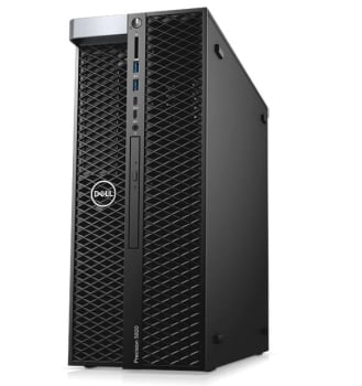 Dell Precision Tower Workstation T5820 (Intel Xeon W-2123, 120W, 32GB, Windows 10 Pro 64-bit)