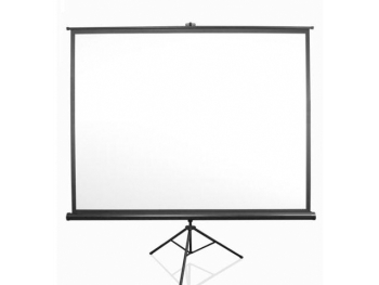 "Anchor 160 x 160 cm 89"" Diagonal 1:1 Aspect Tripod Projector Screen"