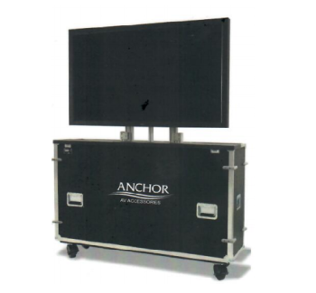 "Anchor ANFCM86 86"" Plasma/LCD/LED Motorized Flight Case"