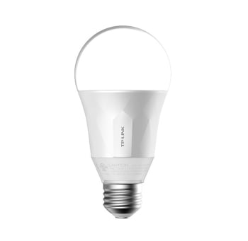 TP-Link LB100 Smart Wi-Fi 600 Lumens 2700K Color Temperature LED Bulb With Dimmable Light