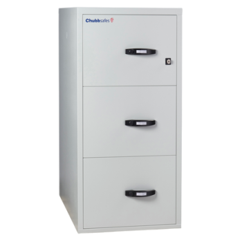 Chubbsafes Profile NT Fire-Resistance Document Protection Cabinet with 3 Drawers