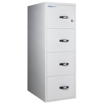 Chubbsafes Fire File 31 Fire-Resistance Document Protection Cabinet with 4 Drawers
