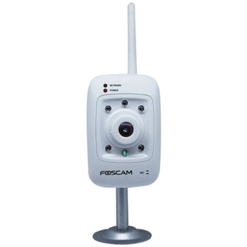 Foscam FI8909WW Indoor Wireless IP Camera- White