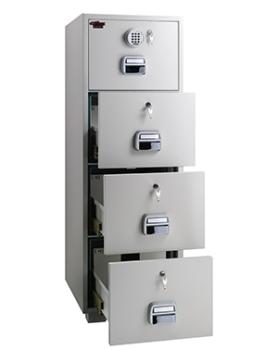 Eagle SF680-4EKK Fire Resistant 4 Drawer Filing Cabinets