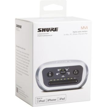 Shure MVI-DIG MOTIV MVI Single-Channel USB Audio Interface