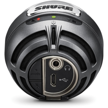 Shure MV5-DIG Cardioid USB-Lightning Microphone For Computers & iOS Devices