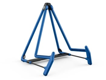 K&M 17580 Heli 2 Acoustic Guitar Stand - blue