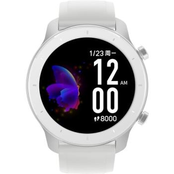 Amazfit GTR-42mm Moonlight White Smart Watch