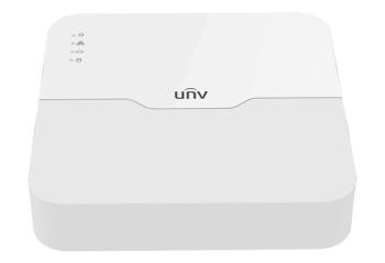 Uniview 4-Channel 1-SATA Ultra 265-H.265-H.264 4K Resolution NVR