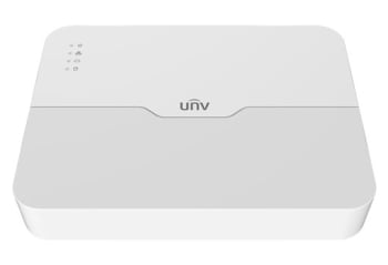 Uniview Up To 8MP Resolution 8 Channel 1-SATA Ultra 265-H.265-H.264 NVR