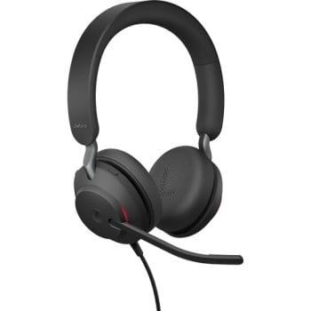 Jabra Evolve2 40 USB-A MC Stereo Wired On Ear Headphone