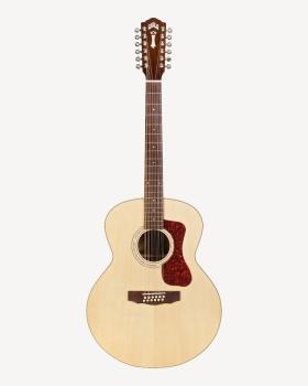 Guild F-1512 Jumbo Natural 12-string Acoustic Guitar