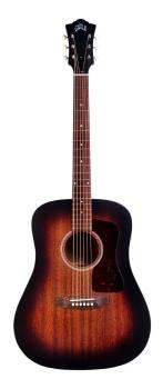 Guild D-20E 6-string Acoustic-electric Guitar-Vintage Sunburst