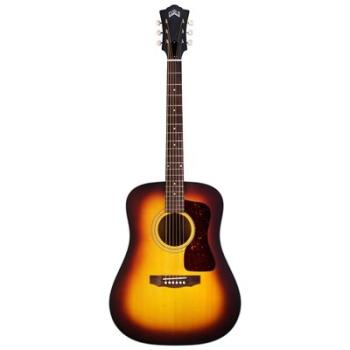 Guild D-40 Dreadnought Acoustic Antique Burst Guitar