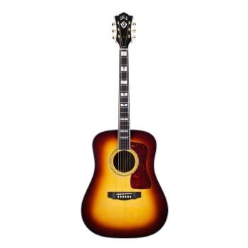 Guild D-55 Dreadnought 6-string Acoustic Guitar Antique Burst