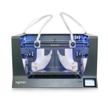 BCN3D Sigmax Versatile Dual Extruder 3D Printer