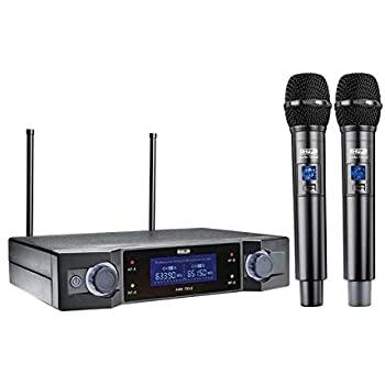Ahuja AWM700U2 Dual Channel UHF Wireless Microphone