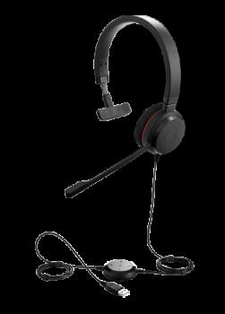 Jabra Evolve 20 MS Wired Headphone
