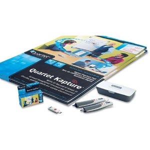Quartet - Kapture Digital Flipchart Office Kit, 2 Pens, 2