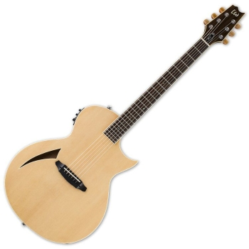 ESP LTL6NAT LTD TL-6 Thinline Natural Finish Acoustic Guitar