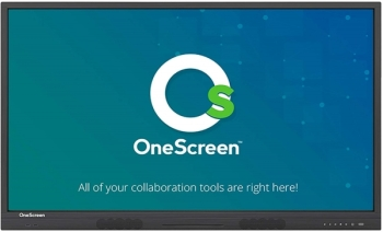 "OneScreen 86"" Interactive Business Touch Screen (Android 8, 3GB RAM & 64GB Storage)"