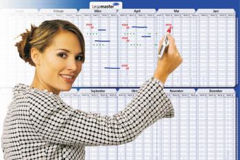 Legamaster7-420221-16 Traditional Horizontal Cardboard Year Planner