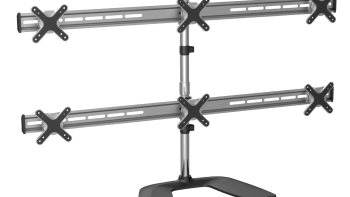 iPlay 7399 Six Monitor LCD LED Adjustable Stand With Steady Base