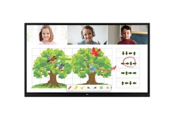 "LG 75TR3BF 75"" UHD IR-Type Touch Interactive Digital Board"