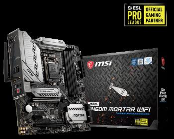 MSI MAG B460M MortarWIFI High Performance Motherboard