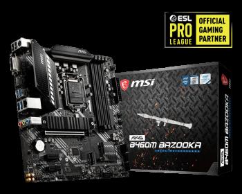 MSI MAG B460M Bazooka High Performance Motherboard