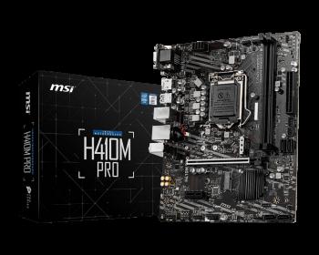 MSI H410M Pro Intel® H410 Chipset Gaming Motherboard