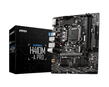 MSI H410M-A Pro Intel® H410 Chipset Gaming Motherboard