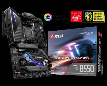 MSI MPG B550 Gaming Carbon WIFI Motherboard