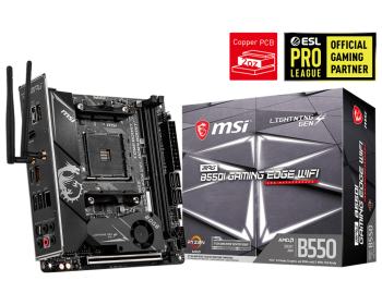 MSI MPG B550I Gaming Edge Wi-Fi Motherboard