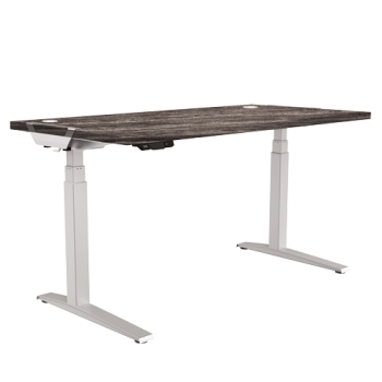 Fellowes Levado Desk and Top Newport Oak (1600mm x 800mm)