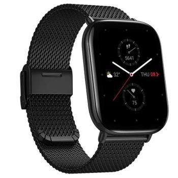 Zepp Square MetallicBlack SpecialEdition Smart Watch