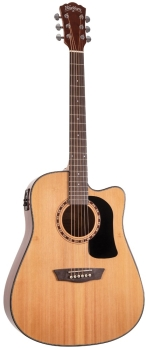 Washburn AD5CE Dreadnought Acoustic Electric Guitar