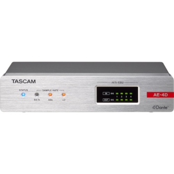 Tascam ML-4D/OUT-X 4-Channel Line-Output Dante Converter with Built-In DSP Mixer