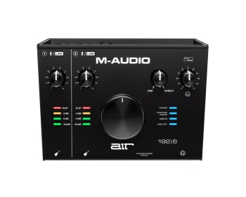 M-Audio AIR 192|6 2-In & 2-Out USB Audio & MIDI Interface